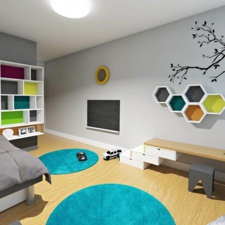 3 izbový byt Bratislava - detská izba