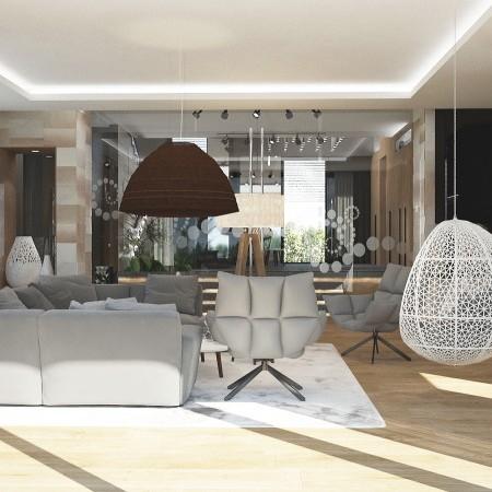 Interiér rodinného domu Michalovce