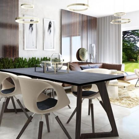 Luxusná jedáleň - dizajn, inšpirácia