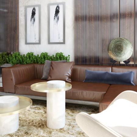 Luxusná obývačka - dizajn, zariadenie, inšpirácie