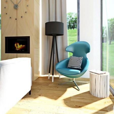 Obývacia izba - dizajn, inšpirácia, návrh