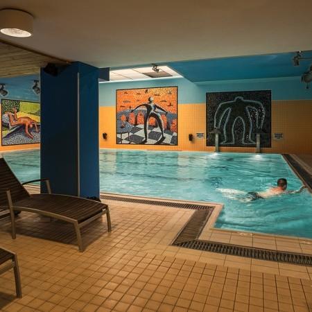 Interiér bazénu