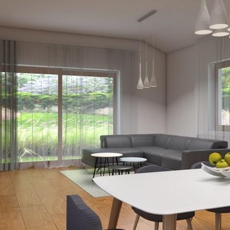 Návrh - obývačka