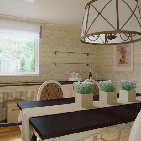 Rodinný dom - jedáleň v kasickom štýle